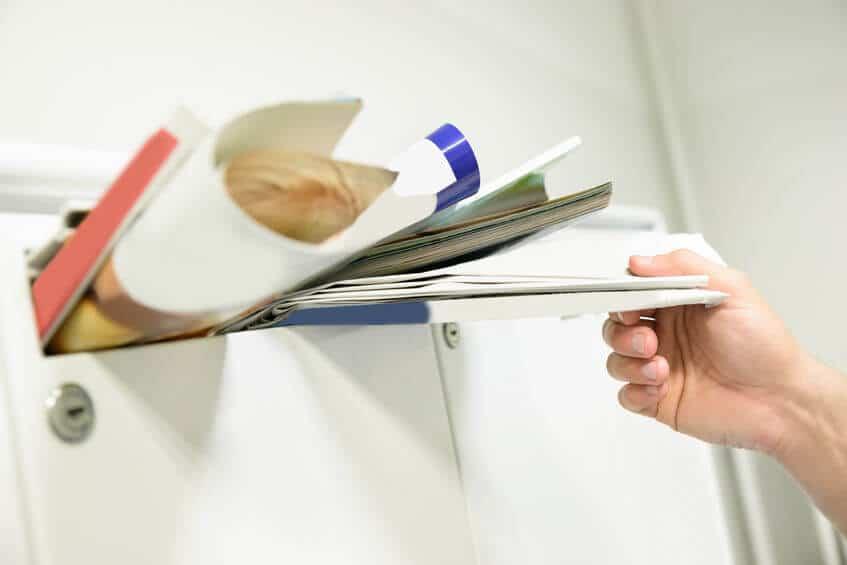 Briefkastenschloss öffnen